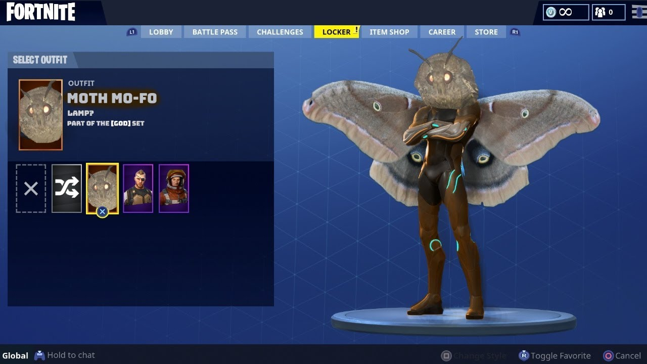 How To Get The Moth Skin In Fornite Youtube