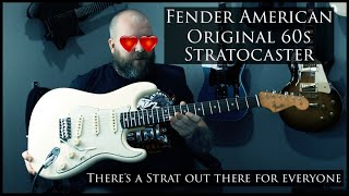 I totally fell in love with this guitar! | Fender American Original 60s Stratocaster | Demo