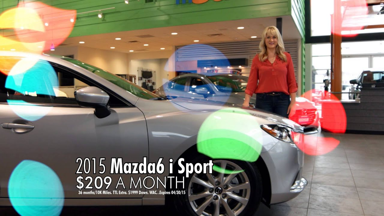 woodhouse mazda april 2015 tv mercial youtube