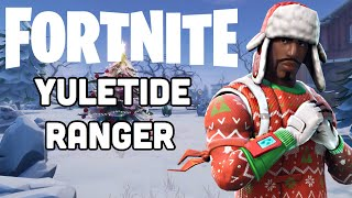 Fortnite NEW YULETIDE RANGER Skin Gameplay!