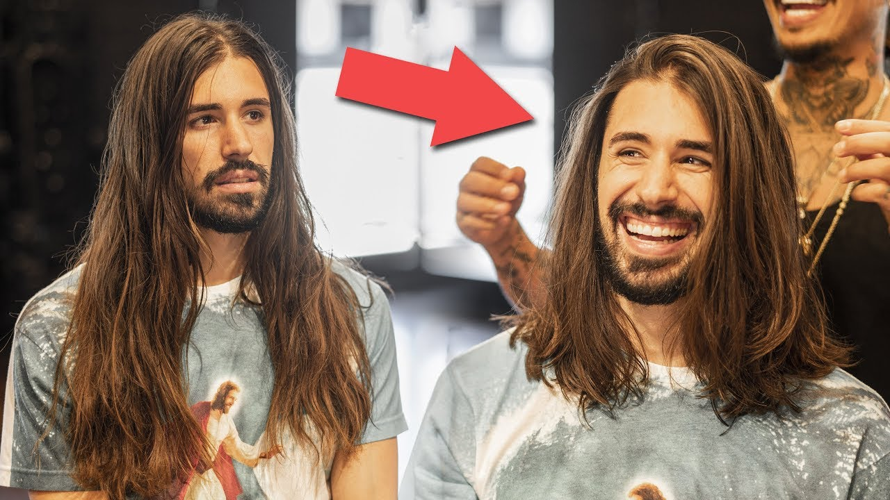 Mens Long Hair Haircut & Hairstyle | How to Maintain Long Hair for Men