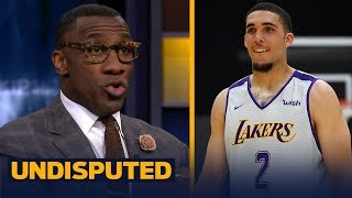 Skip and Shannon's reaction to the Lakers working out LiAngelo Ball | NBA | UNDISPUTED