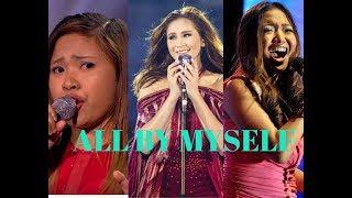 ALL BY MYSELF Battle - Sarah G, Charice, Alisah, Regine, Sheryn and Nina