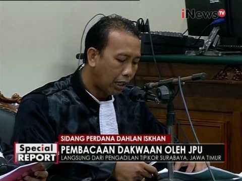 Pembacaan Dakwaan Dahlan Iskan Oleh JPU Part 01 - Spesial Report 06/12
