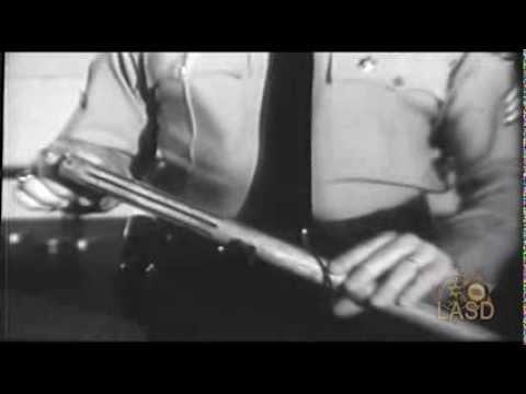 LASD Film Physical Control Techniques The Baton Part One 1963 Original From LASD Archive