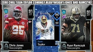 ZERO CHILL SEAN TAYLOR COMING? HEAVYWEIGHTS RAMCZYK AND CHRIS JONES! | MADDEN 20 ULTIMATE TEAM