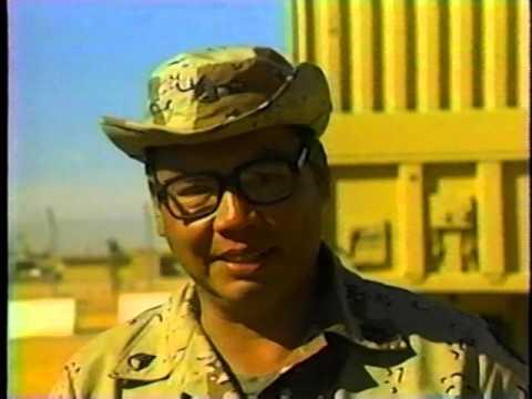 Duty Calls - the 890th in Saudi Arabia - Video # 2