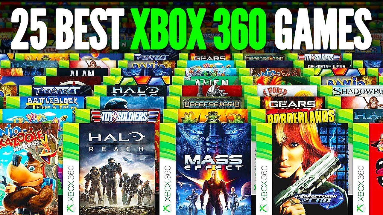 Top 25 Best Xbox 360 Games Of All Time Chaos Youtube
