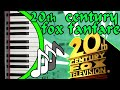 20th Century Fox Piano Fanfare