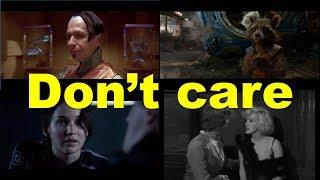 Don't care (примеры из фильмов) / Фразы на английском языке