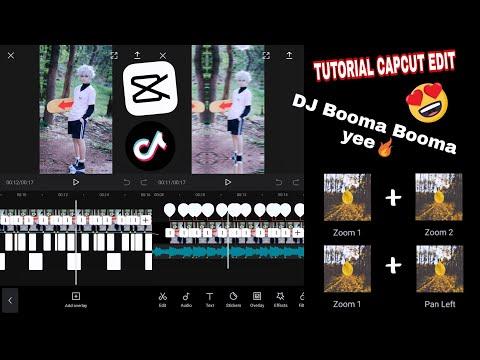 TUTORIAL CAPCUT EDIT | TikTok Viral | Dj Booma Booma Yee !!
