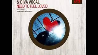 Скачать Andrey Exx Diva Vocal BSKF Need To Feel Loved Alexander Orue Remix Radio Mix