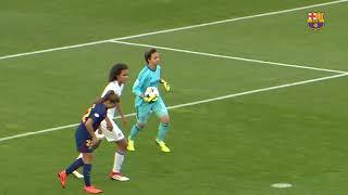 ... fc barcelona femenino - olympique de lyon: no ha podido ser (0-1) a pesar del g...