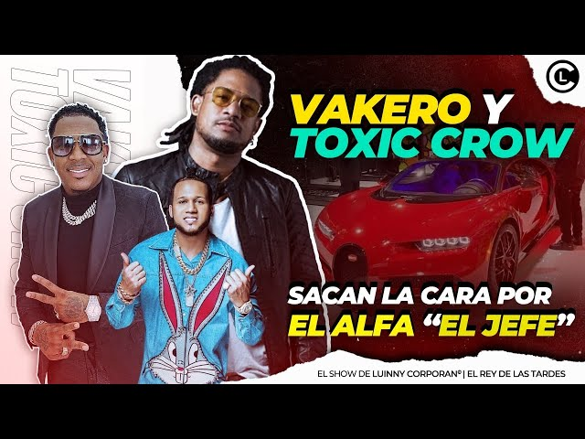 """VAKERO Y TOXIC CROW SACAN LA CARA POR EL ALFA """"EL JEFE"""" TRAS COMPRAR SU BUGATTI """"LO QUE POCOS DIRÁN"""""""