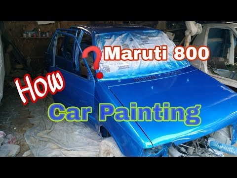 DIY Car painting || How to paint a car || Restore
