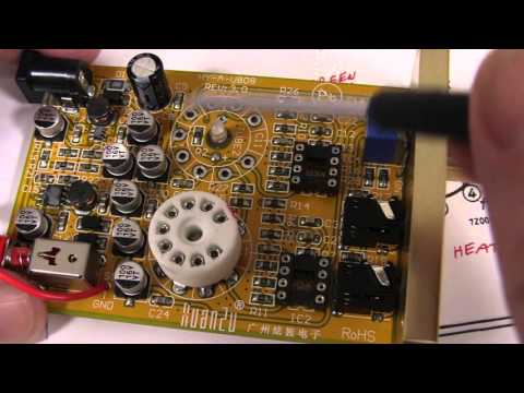 EEVblog #837 - Reverse Engineering A Valve Headphone Amplifier