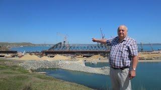 Brueckenbau von Krim nach Russland April 17