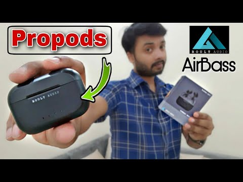 Boult Audio Airbass Propods | Mic Test | Latency Test | Review & Unboxing | Airpod Pro at 2,299? 😮