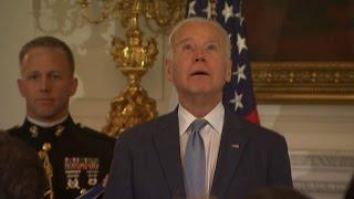 Biden surprised with highest US civilian honour
