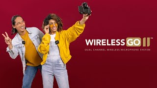 Caractéristiques et spécifications du Wireless GO II