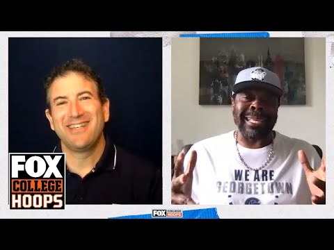 Patrick Ewing shares his side of those Dream Team practices & more w/Andy Katz | FOX COLLEGE HOOPS
