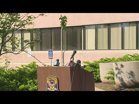 CT State Police Press Conference On Willington And Derby Homicides