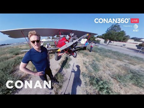 CONAN360° LIVE Highlight: Behind The Scenes Of The Cold Open