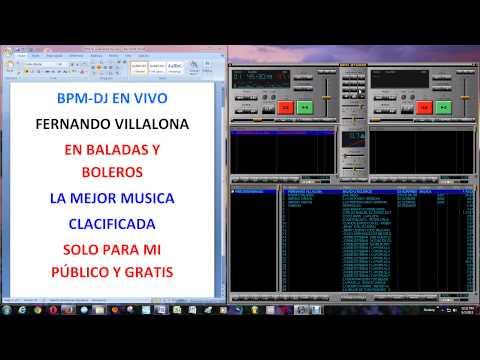 FERNANDO VILLALONA BALADA Y BOLEROS VOLUMEN 1