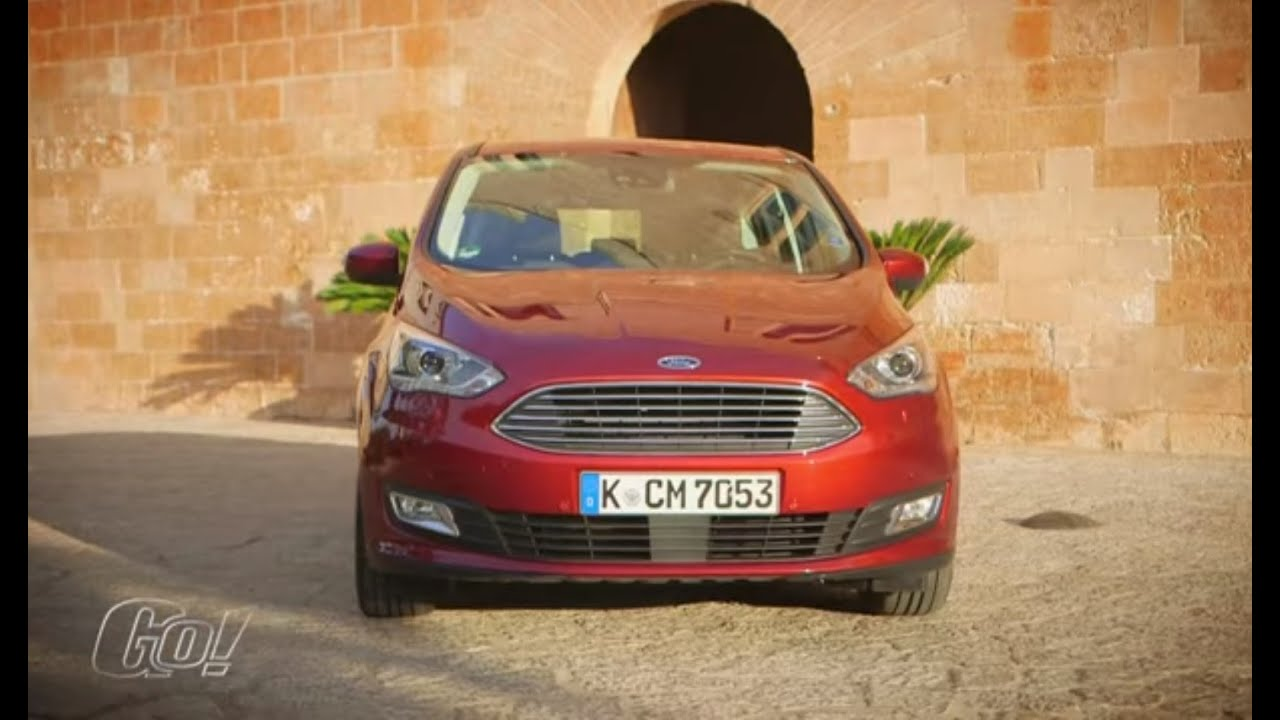 2016 Ford C Max Testbericht Youtube