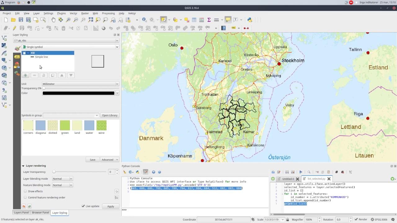 QGIS Quick Tip - Python, SQL and Virtual Layers