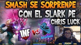 SMASH REACCIONA A LA PARTIDA DE INFAMOUS VS NEWBEE!! | DOTA 2