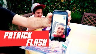 FACETIME CON PATRICK FLASH Y UNBOXING CAMISETA FC BARCELONA