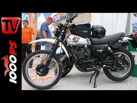 Silbertank Yamaha XT500: K.OTs Klassiker