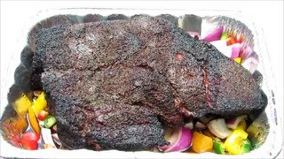 Smoked Beef Chuck Roast Recipe - How To Make Pepper Stout Beef