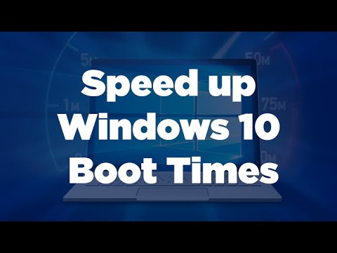 How to Make Windows 10 PC Boot Faster ( Speed Up Startup Time )