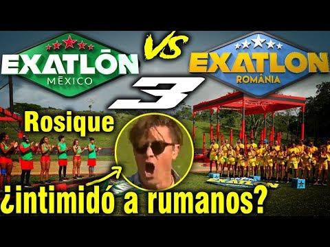 Exatlón México vs Exatlon România 3 | Rosique Intimida a Exatlón Rumania