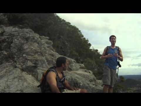 Climbing Mt. Tibrogargan