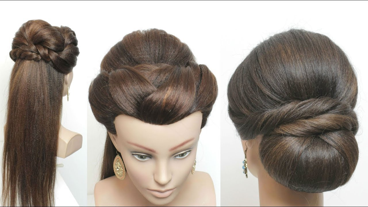 2 Easy Party Hairstyles For Long Hair