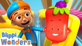 Blippi Wonders - I¢e Cream Truck Adventure! | Blippi Animated Series | Cartoons For Kids