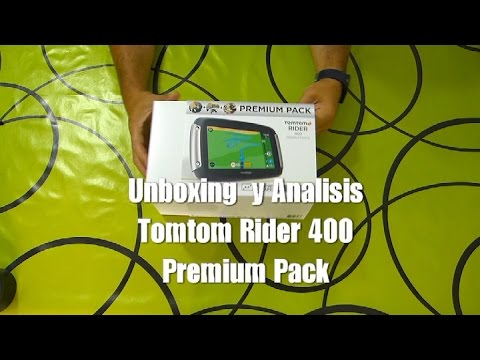 montaenmoto review tomtom rider 400 espa ol youtube. Black Bedroom Furniture Sets. Home Design Ideas