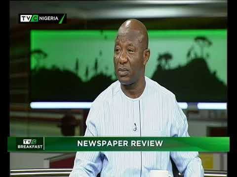 TVC Breakfast Dec.14th, 2018 |Newspaper Review