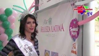Mini Belleza Latina Estado de México. Invitación certamen 2016