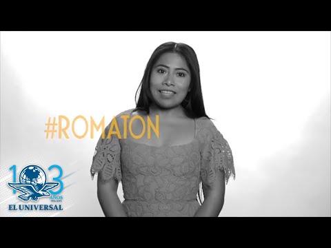Yalitza Aparicio invita a sumarse al segundo Romatón