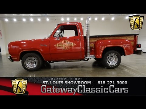 1979 Dodge Lil Red Express - Gateway Classic Cars St. Louis - #6432