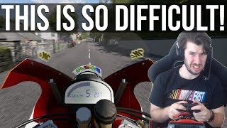 TT Isle Of Man - Trying To Survive A Full Lap On A 1200cc Superbike