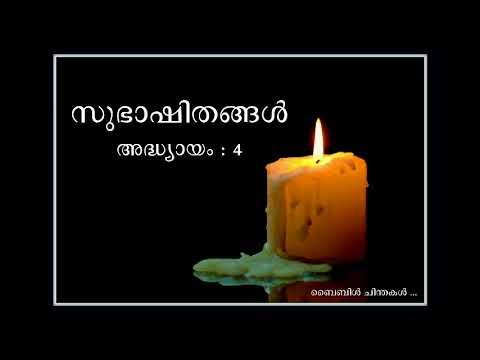 PROVERBS - Malayalam Audio Bible ( full chapters 1-31)
