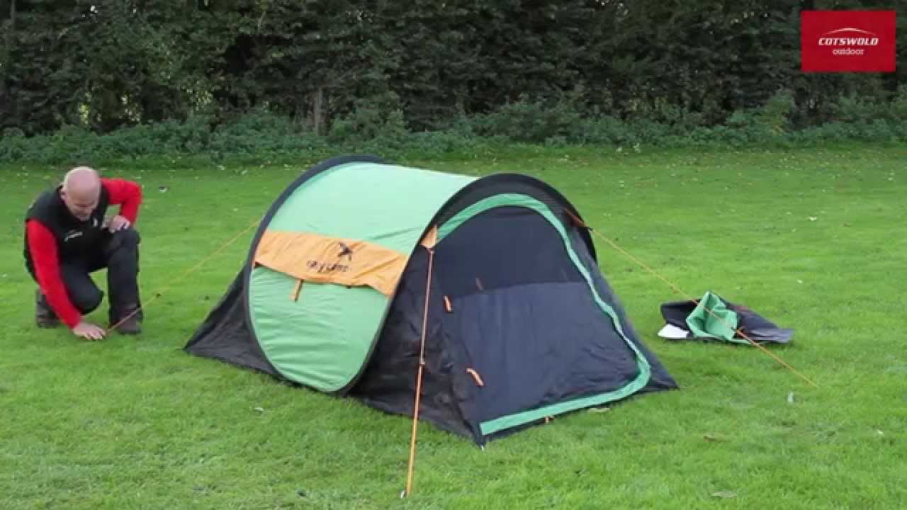 & Easy Camp Funster Pop Up Tent - YouTube
