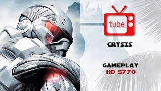 Crysis random gameplay 1080p HD5770 1 GB ++natural mod+++