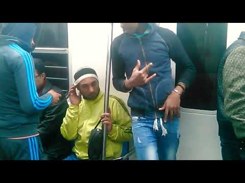 Caught on camera  snoop dogg in the  station metro in Egypt