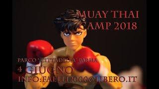Muay thai camp 2018 Parma Cittadella